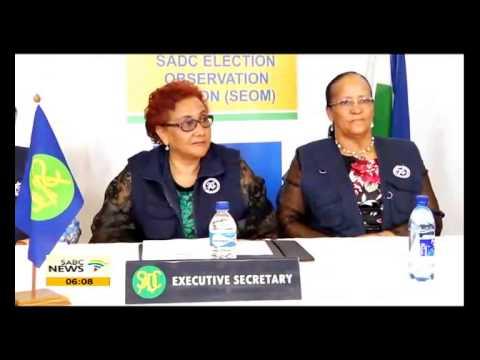 SADC election observer mission begins work in Lesotho