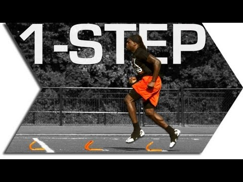 1 STEP  MINI HURDLES SPEED TRAINING