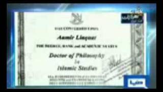 Download Video Amir Liaquat Hussain Holds Fake Degree of Masters and Phd.3gp MP3 3GP MP4