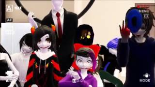 MMD Creepypasta || funny moments // Vine =//w//= //PART 1