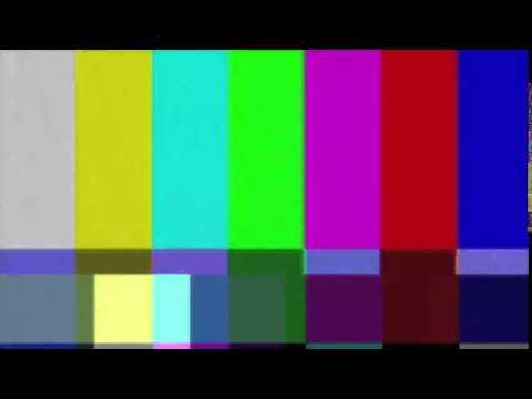 TV Error effect for videos