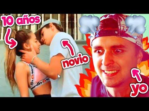 Finalmente se besaron... mi hermana (de 10 a�os) y SU NOVIO
