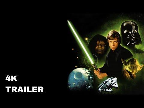 STAR WARS: Episode VI - Die Rückkehr der Jedi Ritter Trailer German/Deutsch [4K]