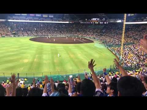 180911 阪神対中日 9回2アウト満塁 アルモンテ逆転タイムリー ビジターより(甲子園球場)