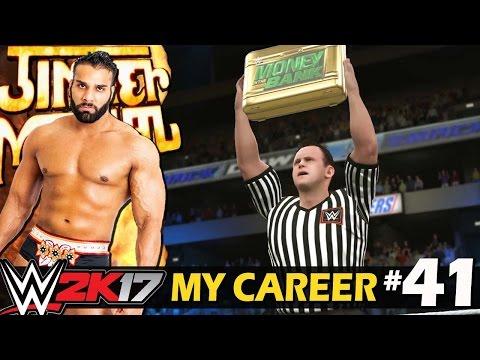 "WWE 2K17 My Career Hindi #41 ""Money in the Bank"" - Rise Of Jinder Mahal (PS4 Gameplay)"