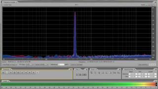 A 440Hz test tone