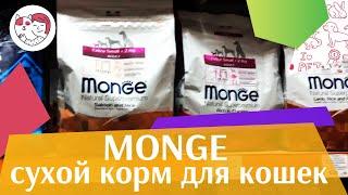 видео Корм для кошек Monge (Монже): обзор, отзывы и цены