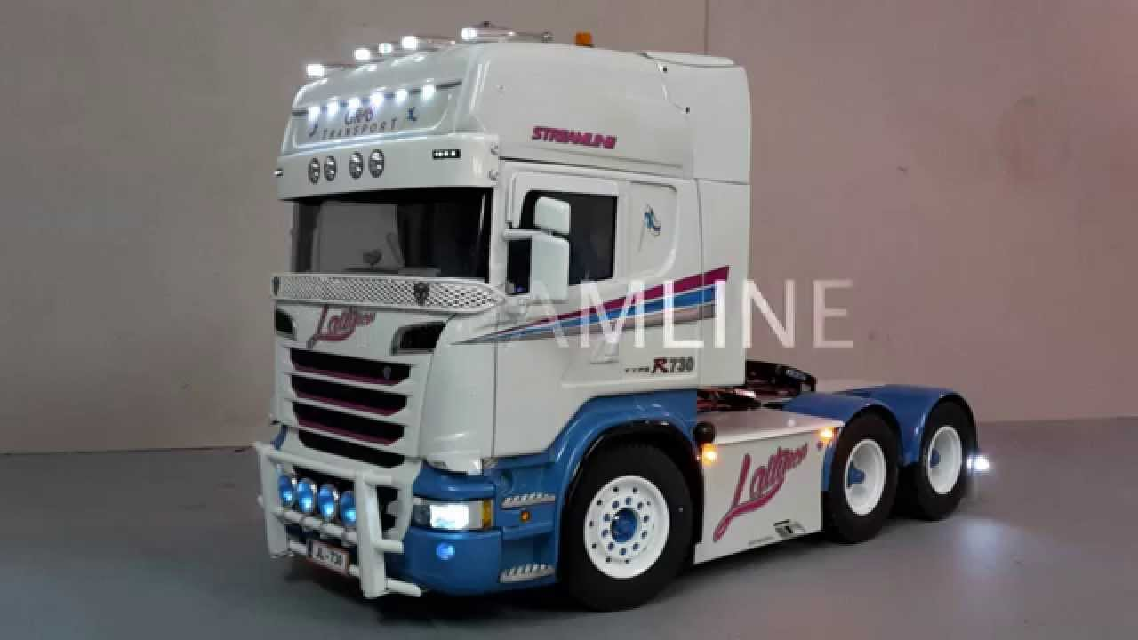 Tamiya Scania R730 STREAMLINE - YouTube