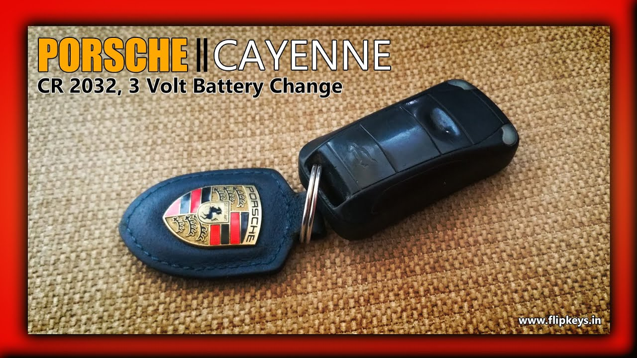 porsche cayenne key fob battery change youtube. Black Bedroom Furniture Sets. Home Design Ideas