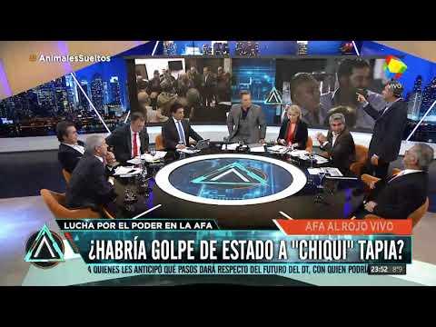 La interna entre el Chiqui Tapia y Angelici en AFA