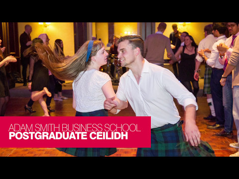 Adam Smith Business School Postgraduate Ceilidh