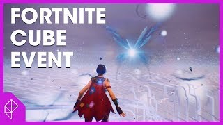 Fortnite Cube Explosion: Live footage with views of the new Loot Lake