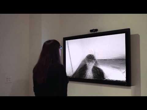 """""""Darwinian Straw Mirror"""" (2010) by Daniel Rozin"""