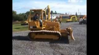 Dozer CAT DC3 Demonstration
