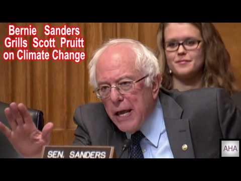 Bernie Sanders Grills Scott Pruitt on Climate Change