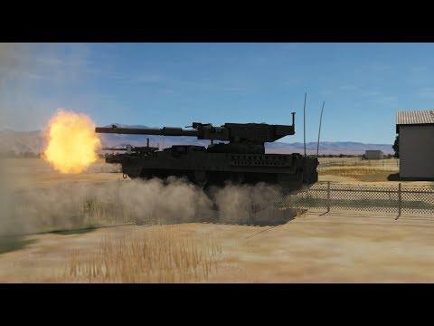 アメリカ陸軍 US Army VS ロシア陸軍 Russian army 前哨戦【DCSWorld】