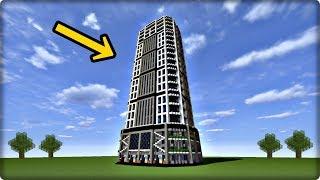 【マインクラフト】超高層ビルを建築してみる【ビルの作り方】