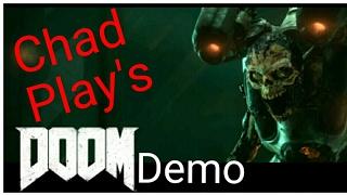 WARNING-EXTREME-GORE   Doom Demo