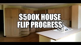 $500k House Flip Progress With Kitchen and Bath Plan Decided Bought 9/6/2019