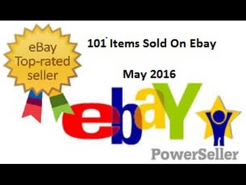 101 Items to Sell On Ebay May 2016 - Thrift Stores, Garage Sales, Estate Sales, Flea Markets