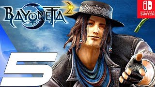 BAYONETTA 2 - Gameplay Walkthrough Part 5 - Ancient Civilization (Remastered) Switch