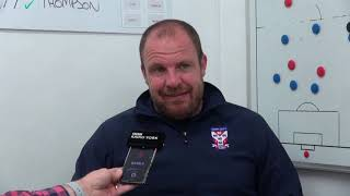 Sam Collins pre-match interview (FA Cup 2Q)
