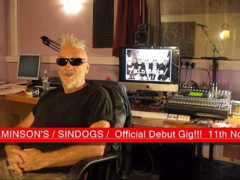 "Zal Cleminson's / SIN'DOGS / - Zal talks ""/SIN'DOGS/"""
