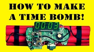 How to Make a Time Bomb Prop (DIY)