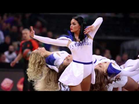 Fabulous Zalgiris Kaunas cheerleaders from Lithuania