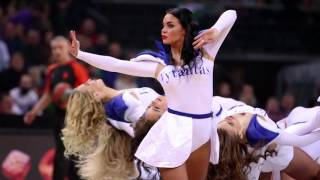 Fabulous Zalgiris Kaunas cheerleaders from Lithuania