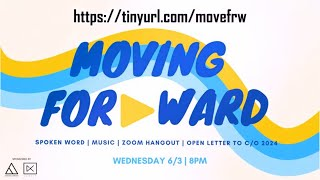 Join Us for Moving Forward! | 8pm Wed, June 3