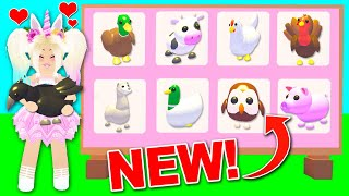 I Got ALL The NEW FARM ANIMALS In Adopt Me! (Roblox)