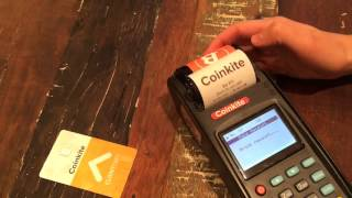 Обзор платежного терминала для биткоин Coinkite
