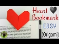 Easy Heart | Love Bookmark - DIY Origami Tutorial by Paper Folds