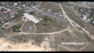 Севастополь 35 Батарея Крым 2015 с высоты птичьего полета