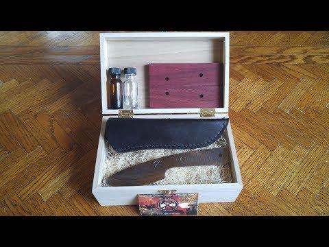Indy Hammered Knives knife making kit