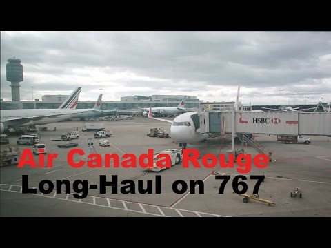 Air Canada Rouge | 767-300 In Economy Vancouver To Japan