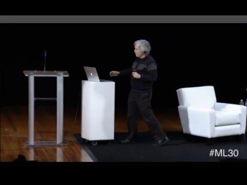 Alan Kay at Media Lab 30