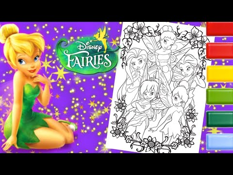 Free Printable Tinkerbell Coloring Pages For Kids | Tinkerbell ... | 360x480