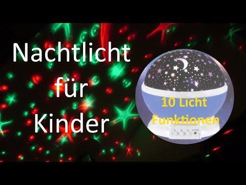 Night Light For Kids Stars Starry Sky LED Night Light Projector Moon Night Lamp Battery USB