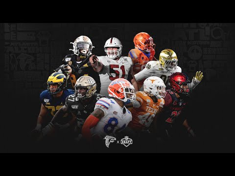 Watch the college highlights for the Atlanta Falcons 2021 NFL Draft picks