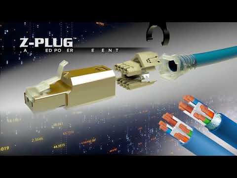 Siemon Z-Plug™ Field Terminated Plug Overview
