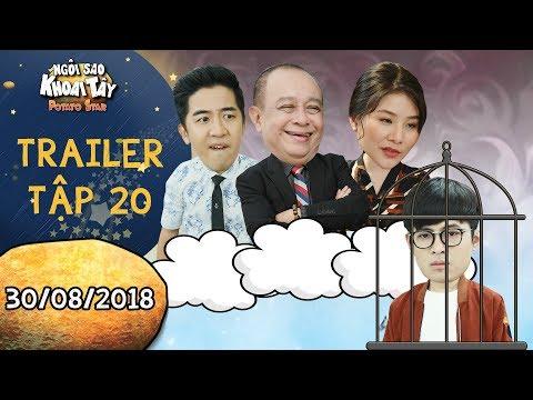 Ngôi sao khoai tây|trailer tập 20: Bộ 3 phản động lên kế hoạch bài trừ Gin Tuấn Kiệt vì sợ lộ bí mật