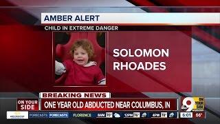 Amber Alert for missing Indiana boy Solomon Rhoades