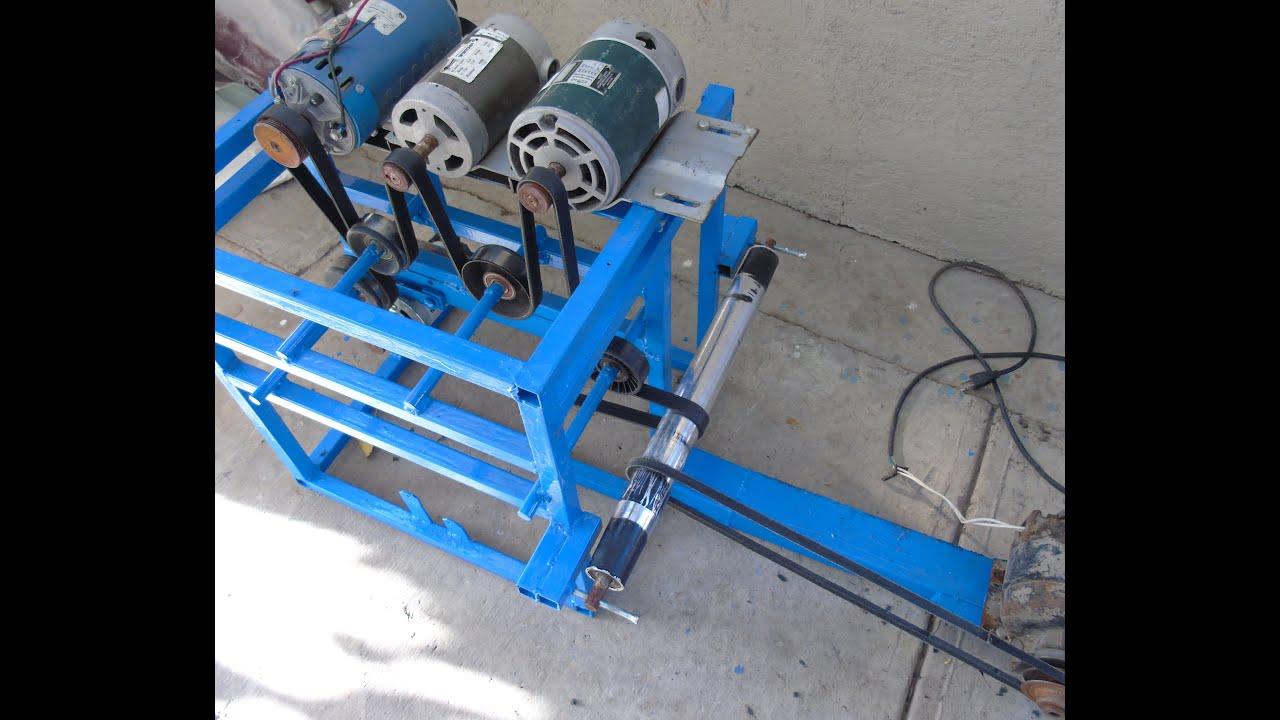 8bfd07333b7 Prueba de la maquina que produce mas de 450 voltios - YouTube