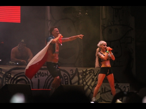 "Die Antwoord  ""UGLY BOY"" Lollapalooza Chile 2016"
