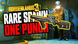 Borderlands 3 - RARE ENEMY - ONE PUNCH drops the ONE PUMP CHUMP!