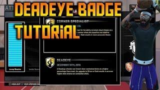 NBA 2K16 How To Get Deadeye FAST & EASY Tutorial