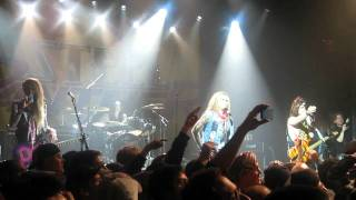 Steel Panther - Critter & Asian Hooker - Irving Plaza, NYC - 01.04.12