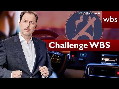 Geblitzt + Kein Gurt = Doppelte Strafe? | Challenge WBS Rechtsanwalt Christian Solmecke